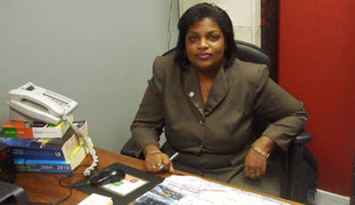 Rowena Williams, former president of the T&T Cycling Federation