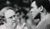 Jerry Izenberg interviews Muhammad Ali in a 1970s file photo. (The Star-Ledger)
