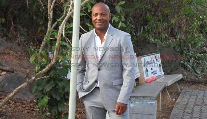 TT cricket legend Brian Charles Lara.